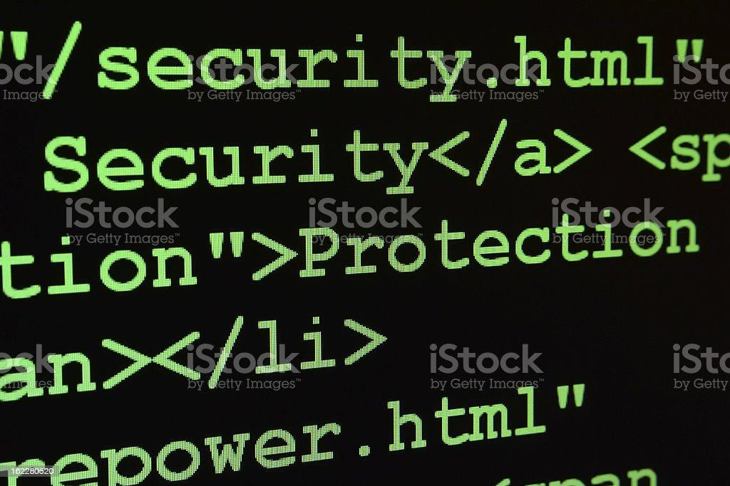 Security and protection royalty-free stock photo