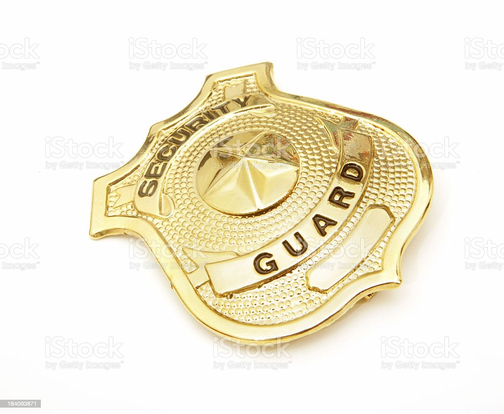 Security Badge royalty-free stock photo