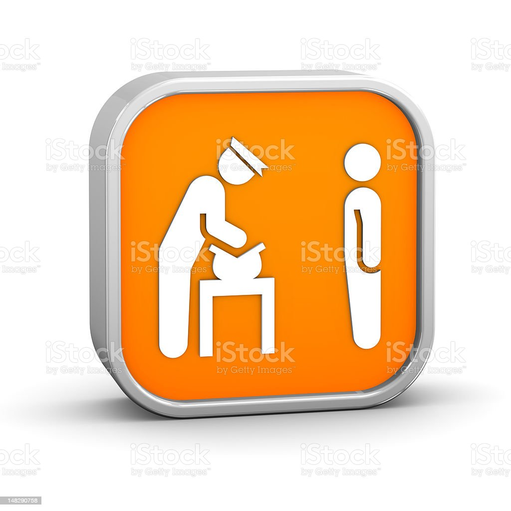 Security Bag Check Sign royalty-free stock photo