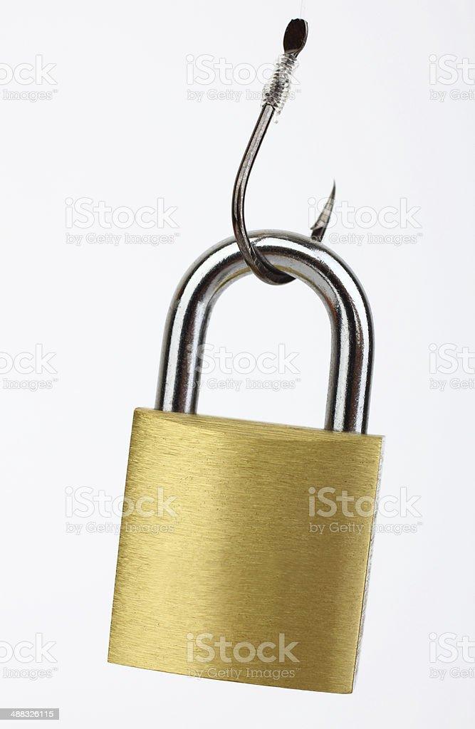 Security bait stock photo