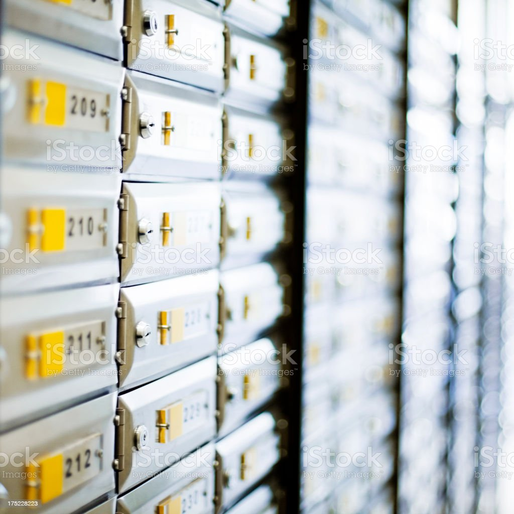 Security boxes royalty-free stock photo