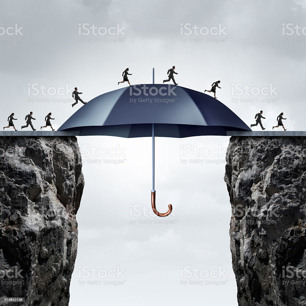 Security Bridge Concept stock photo