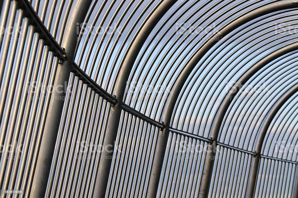 Security Cage stock photo