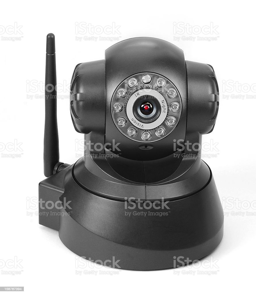 Security cam royalty-free stock photo