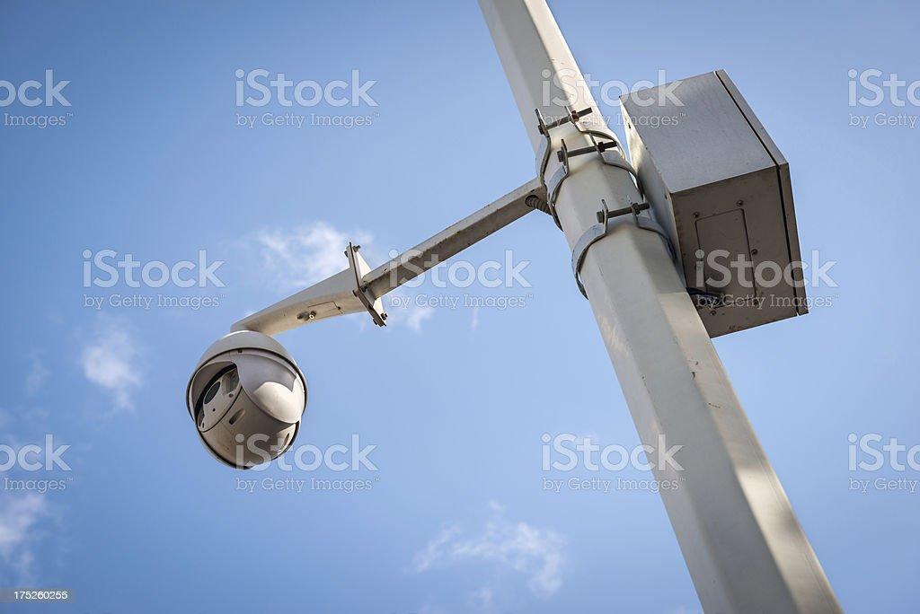 Security camera. royalty-free stock photo