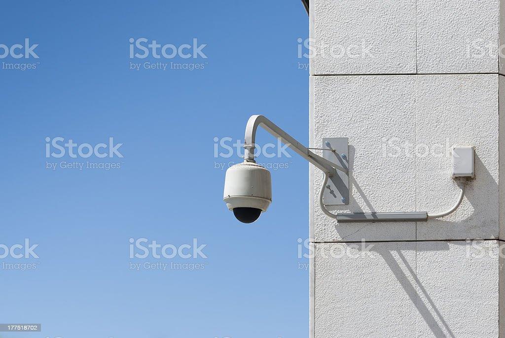 Cámara de seguridad - foto de stock