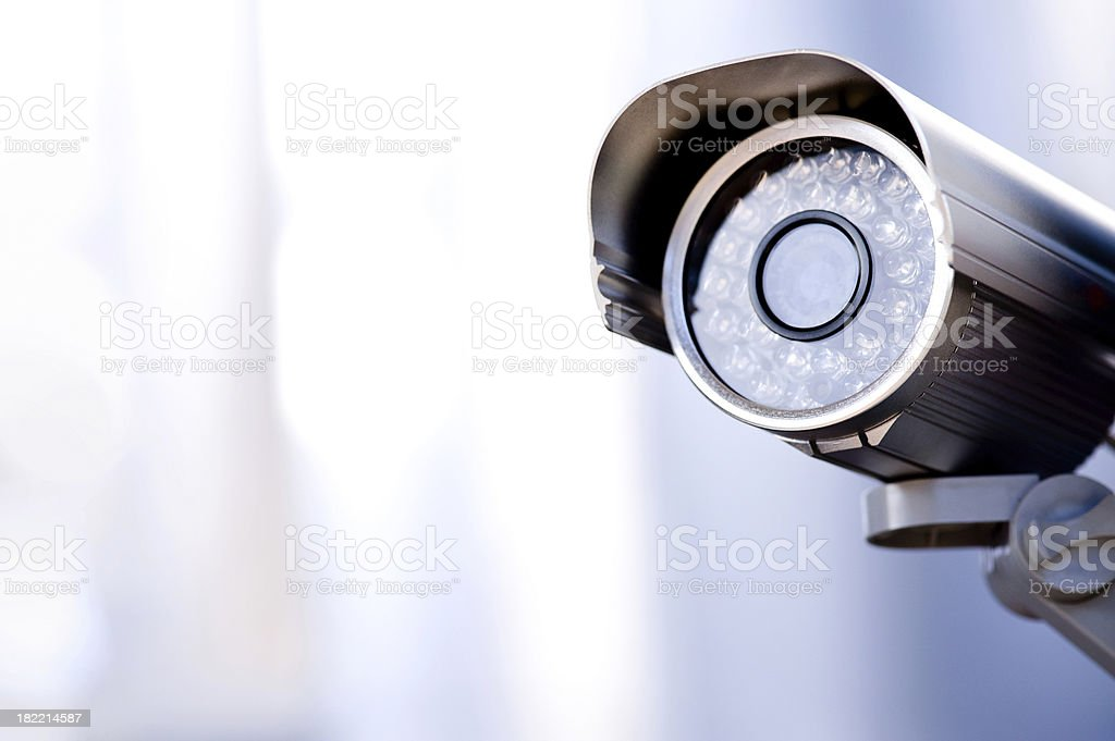 Security camera stock photo