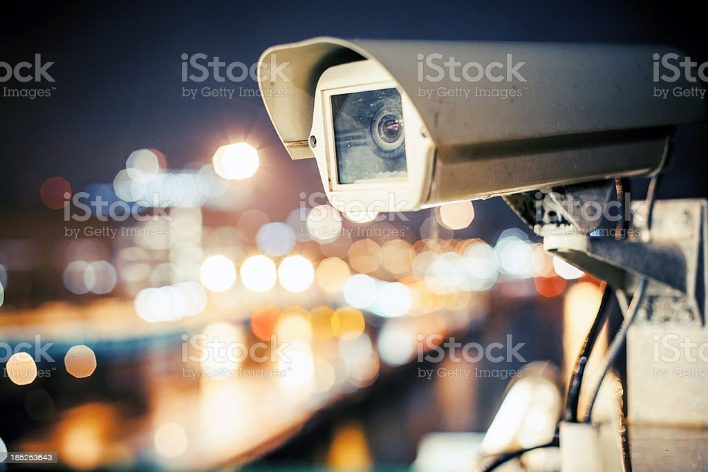Security camera. royalty-free stock photo