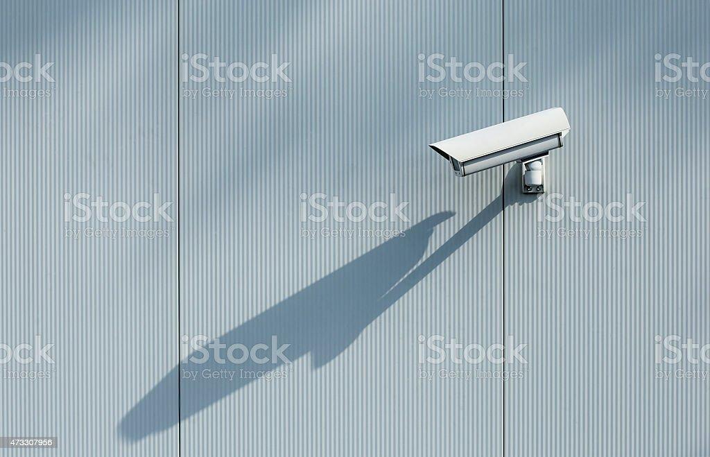 Security camera. stock photo