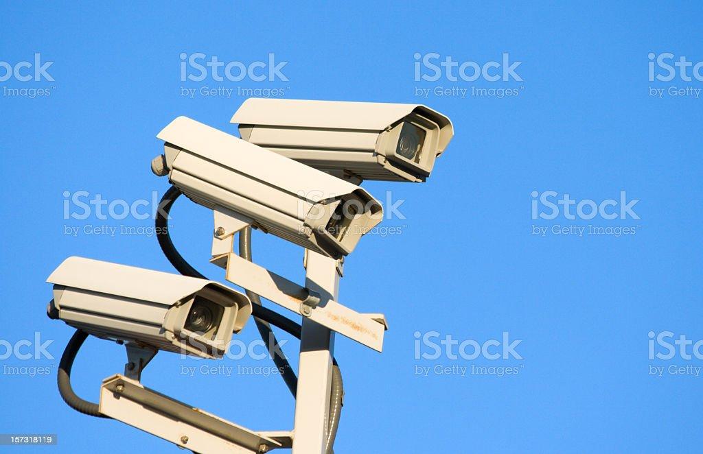 Security Cameras stock photo