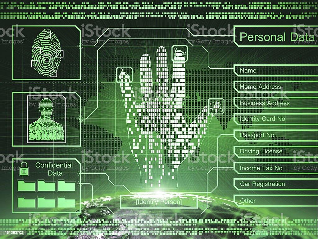 Security concept stock photo