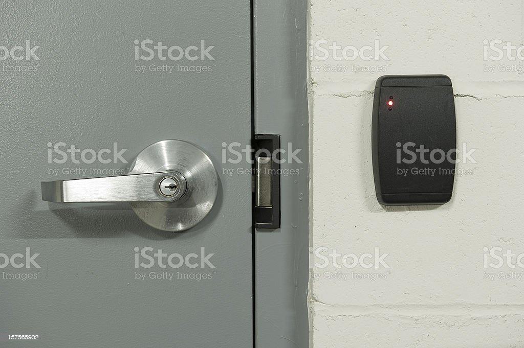 Security door stock photo