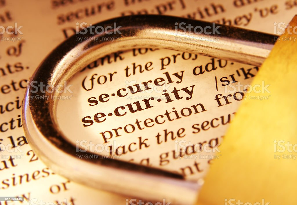 Security [dramatic] royalty-free stock photo
