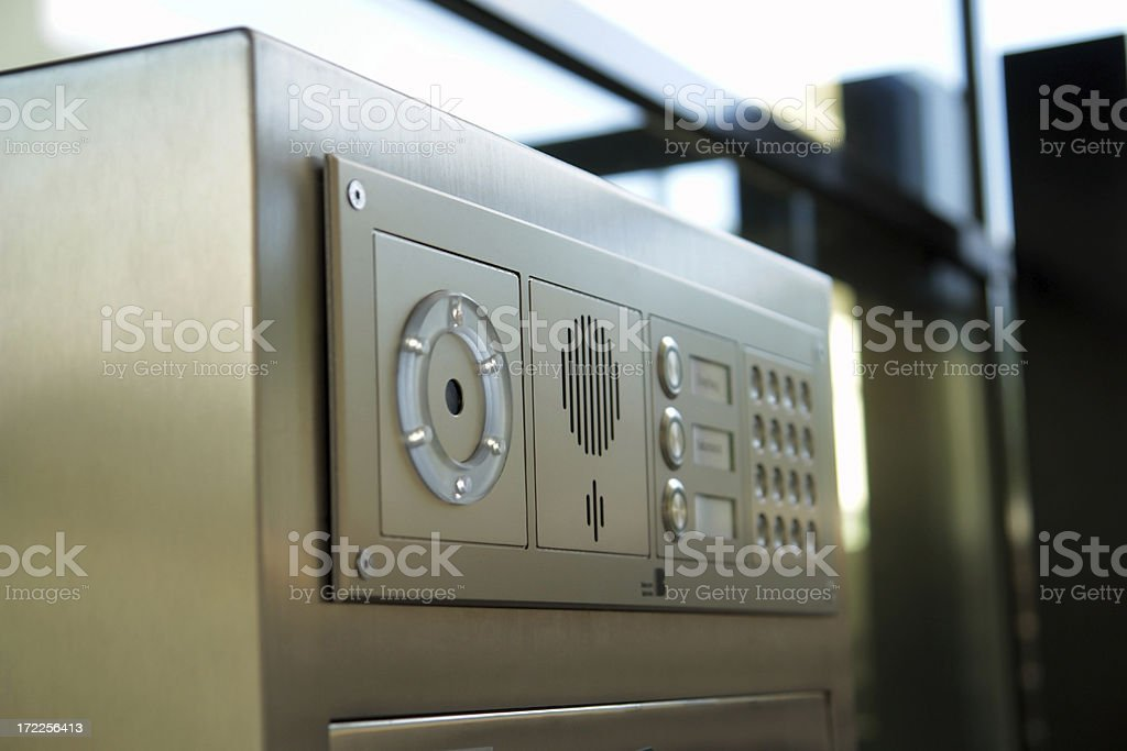 Security eye-scanner. royalty-free stock photo