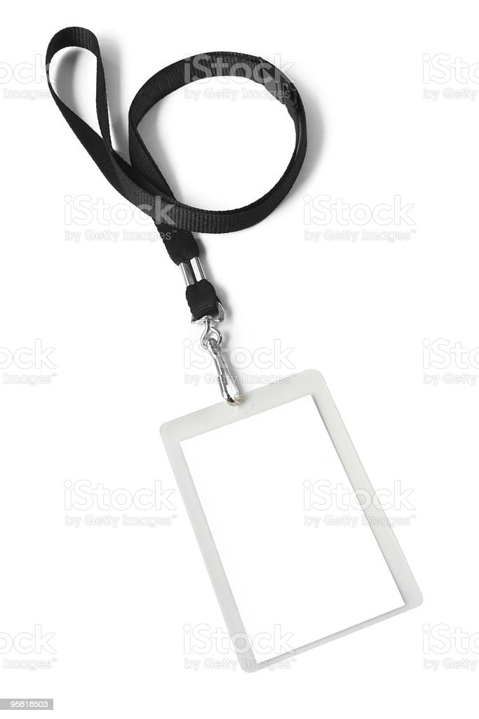 Security ID Pass stock photo
