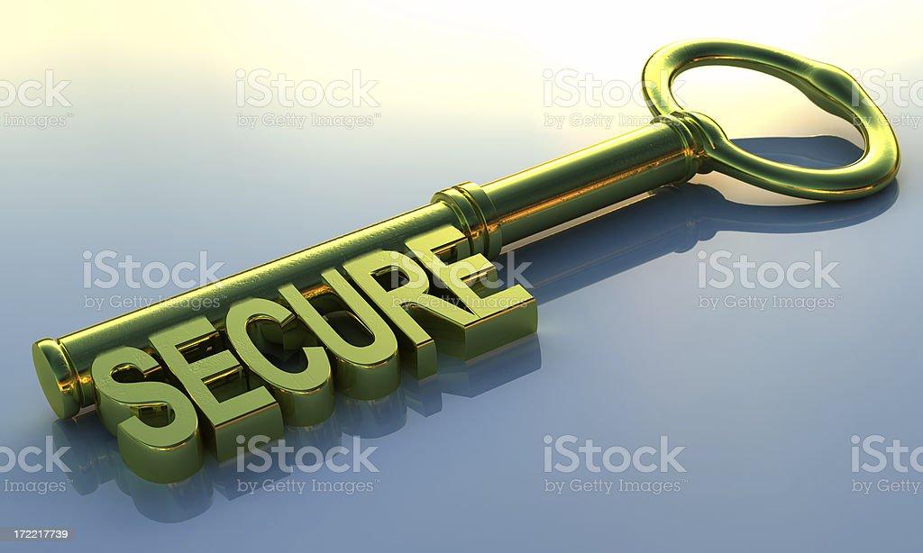 Security Key royalty-free stock photo