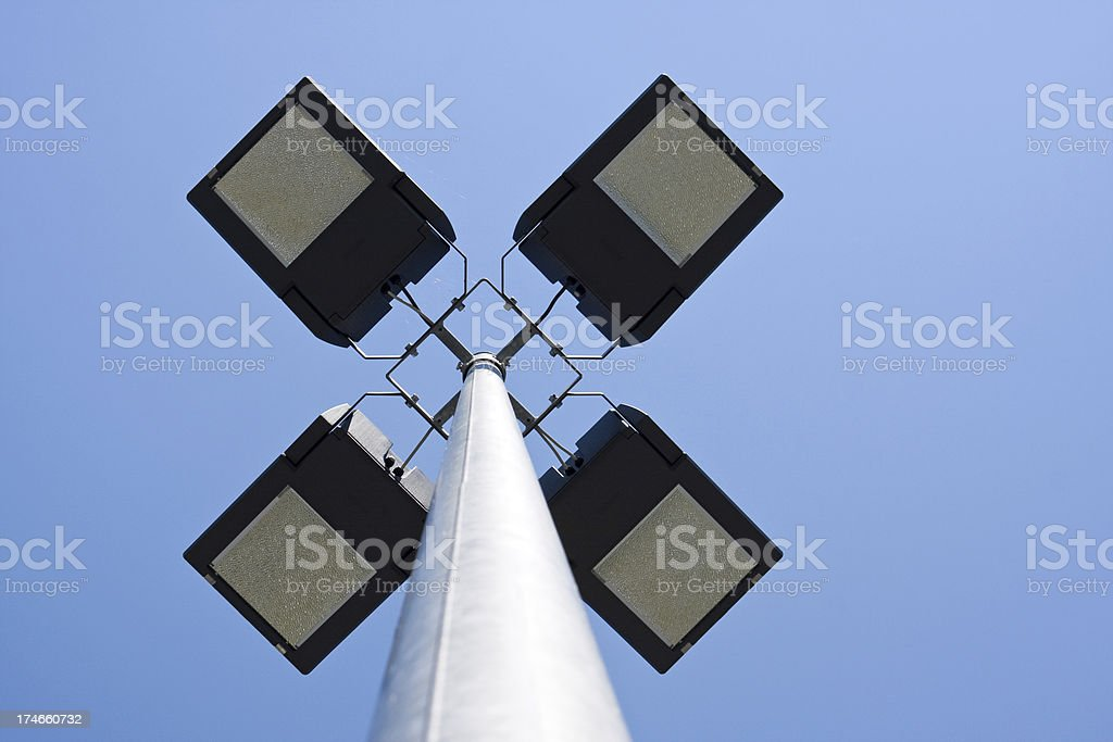 security lights royalty-free stock photo