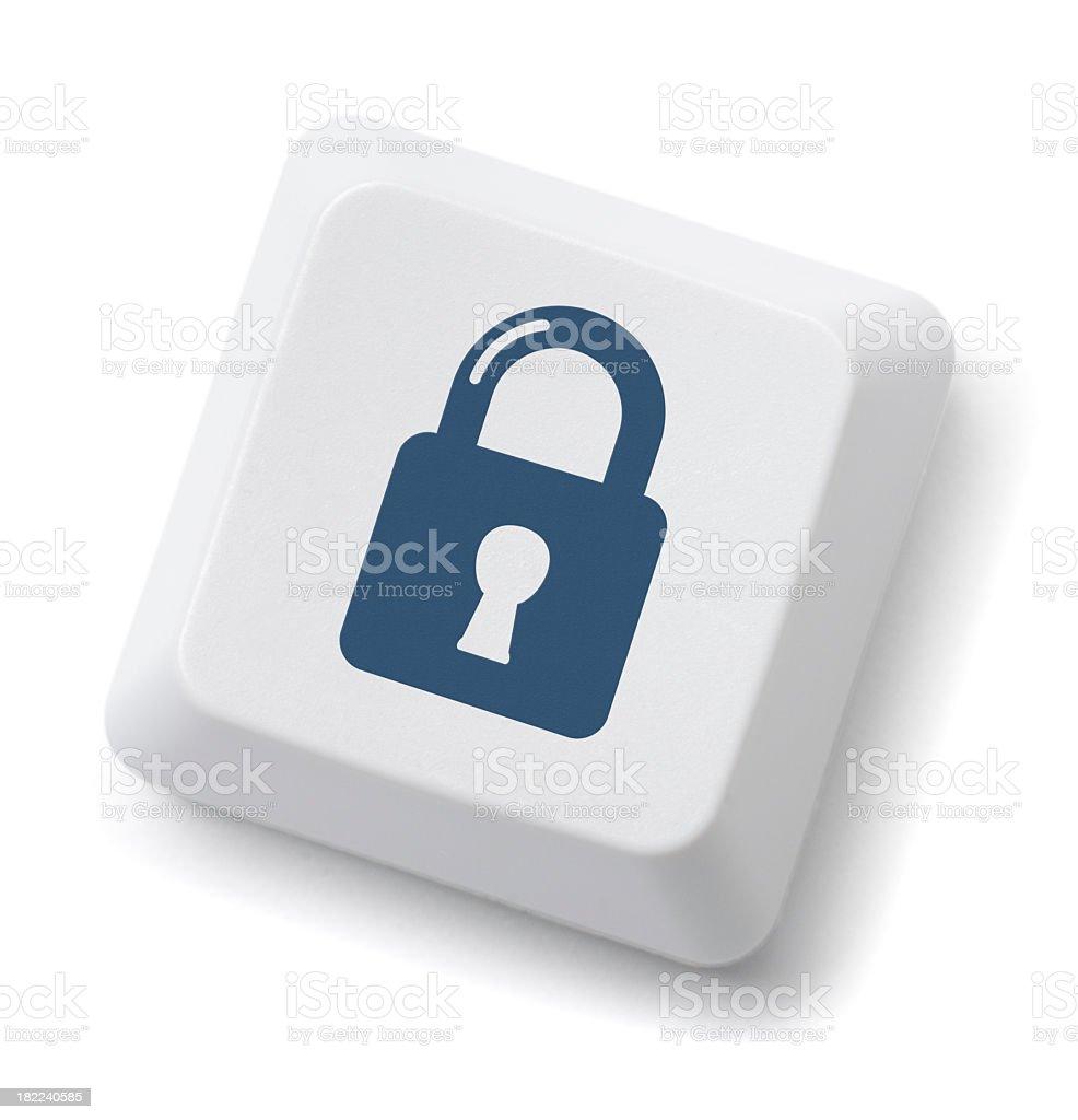 Security Lock Key royalty-free stock photo