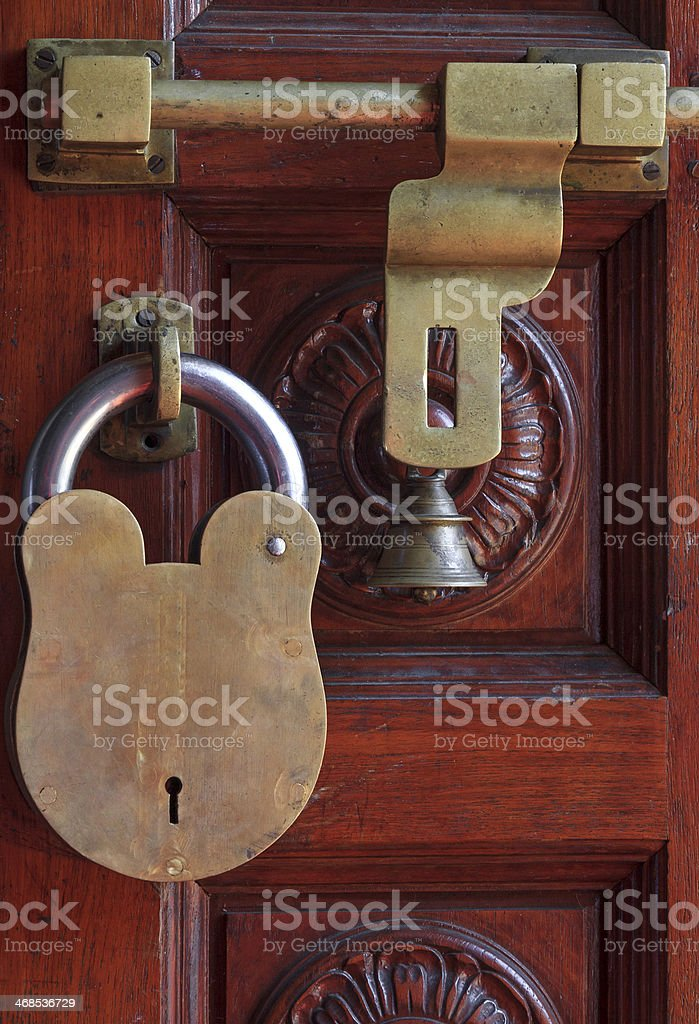 Security Lock stock photo