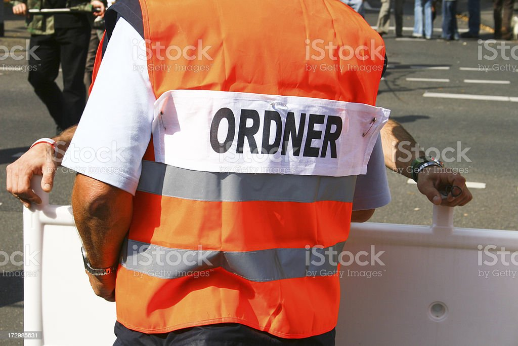 Security man royalty-free stock photo