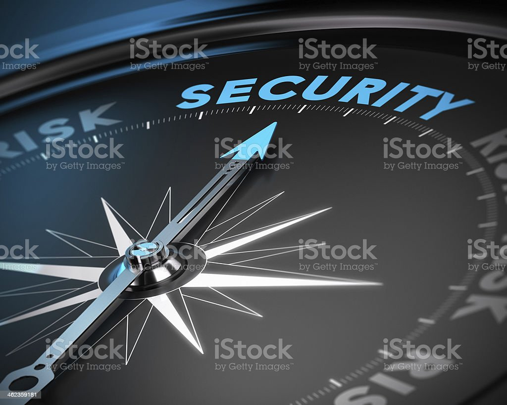 Security Management Concept royalty-free stock photo