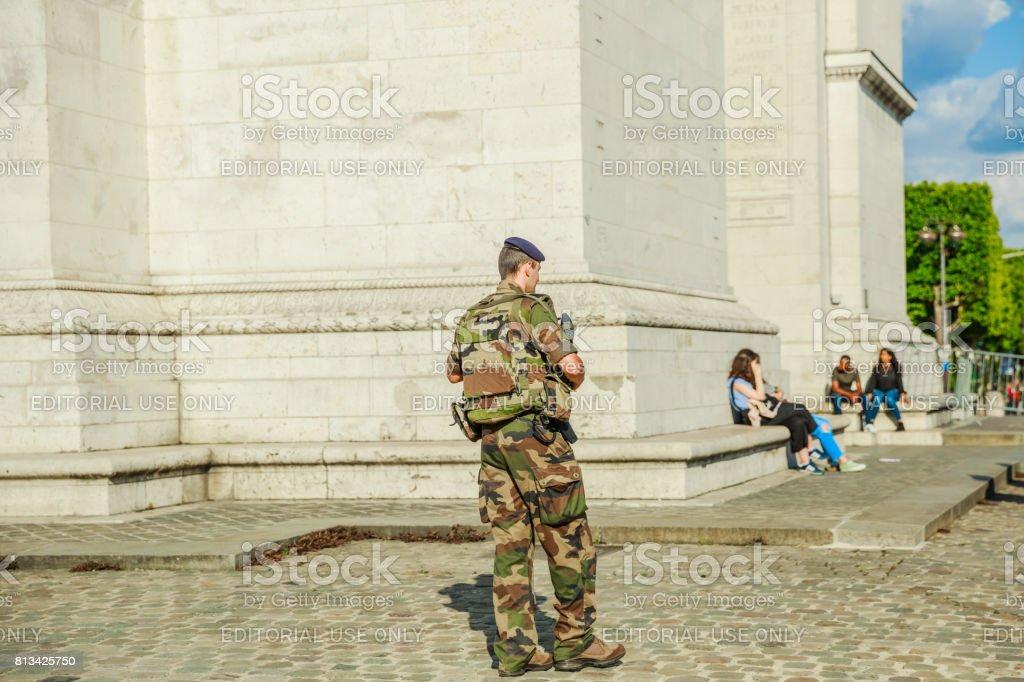 security national guard stock photo