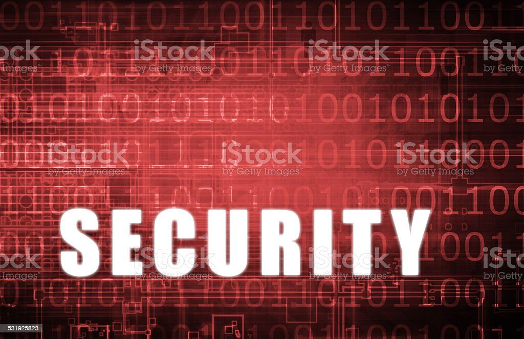 Security Network stock photo