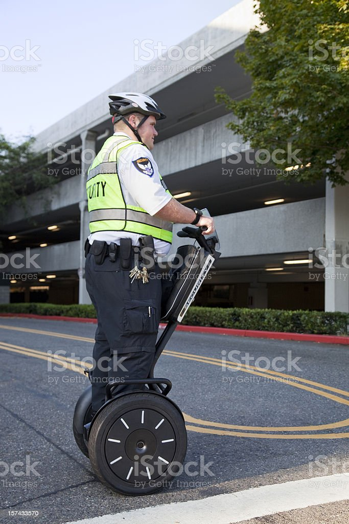 Security Patrol royalty-free stock photo