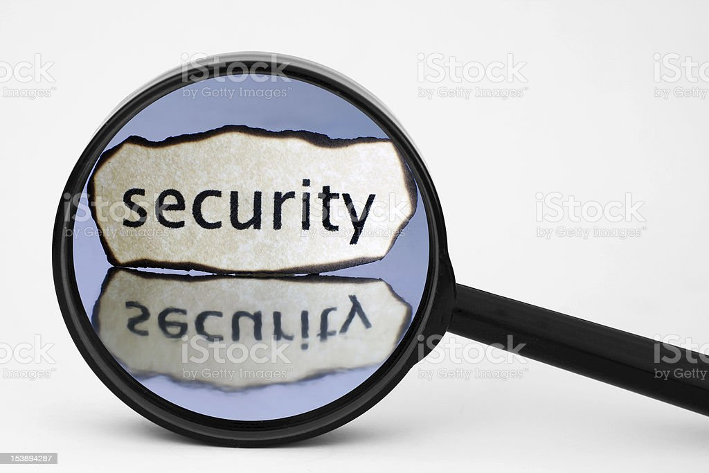 Security royalty-free stock photo
