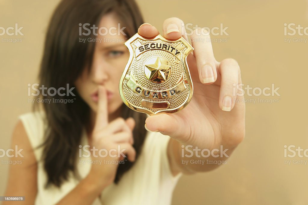 Security! royalty-free stock photo