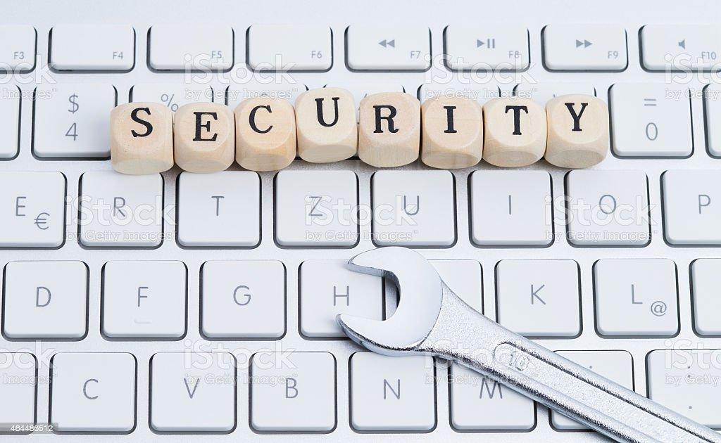 IT security stock photo