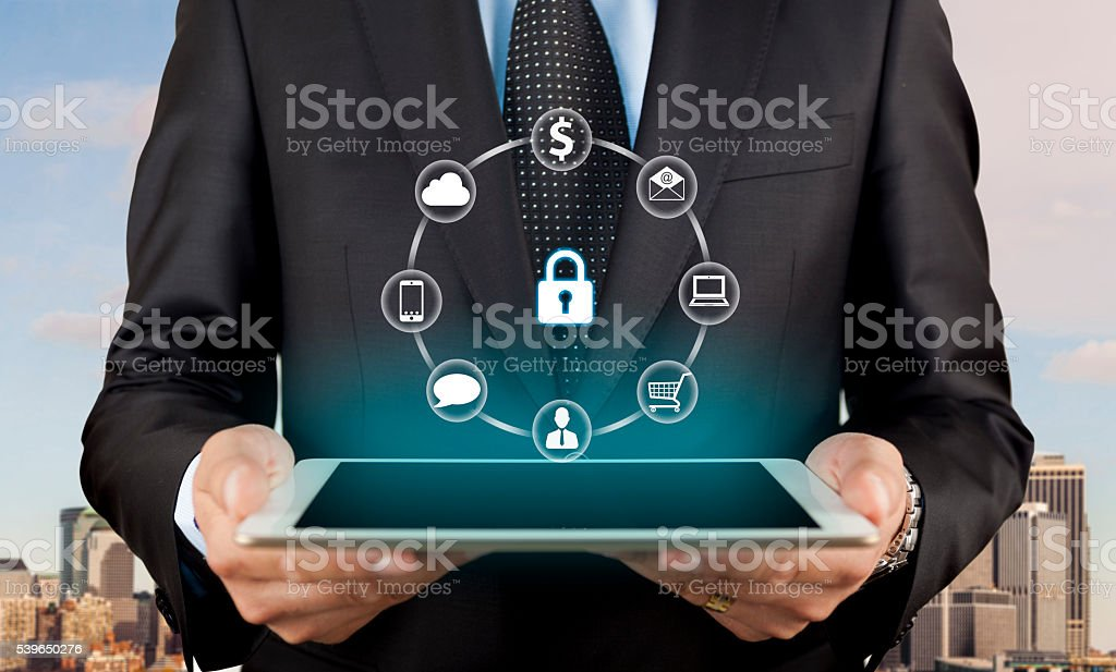 Security & privacy concept stock photo