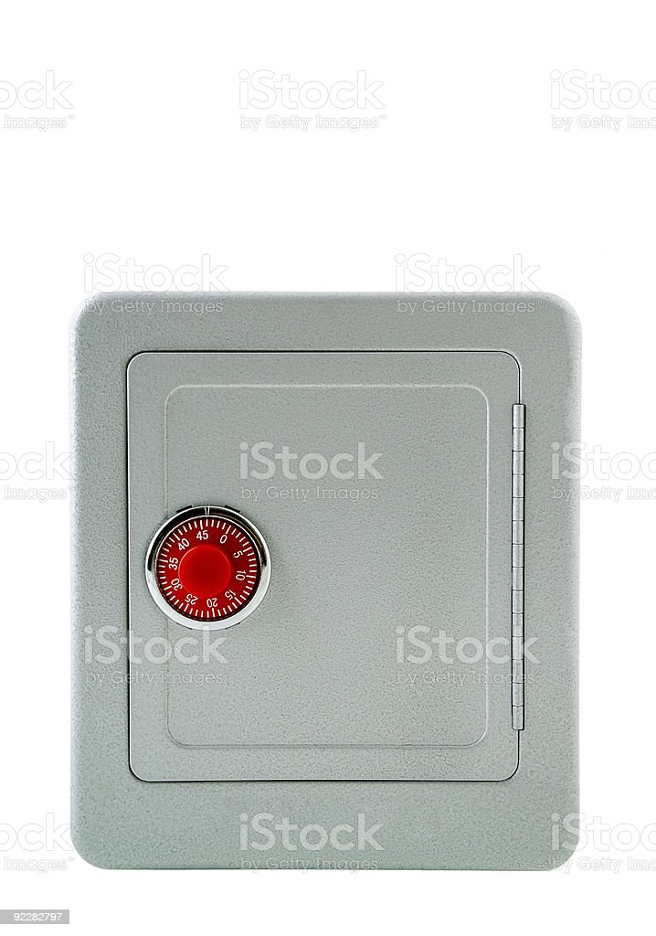 Security- Safe Box royalty-free stock photo