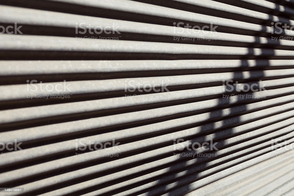 security shutter stock photo