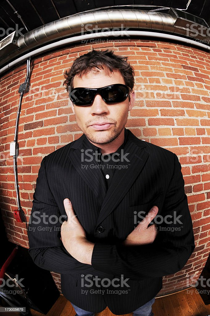Security Staff royalty-free stock photo