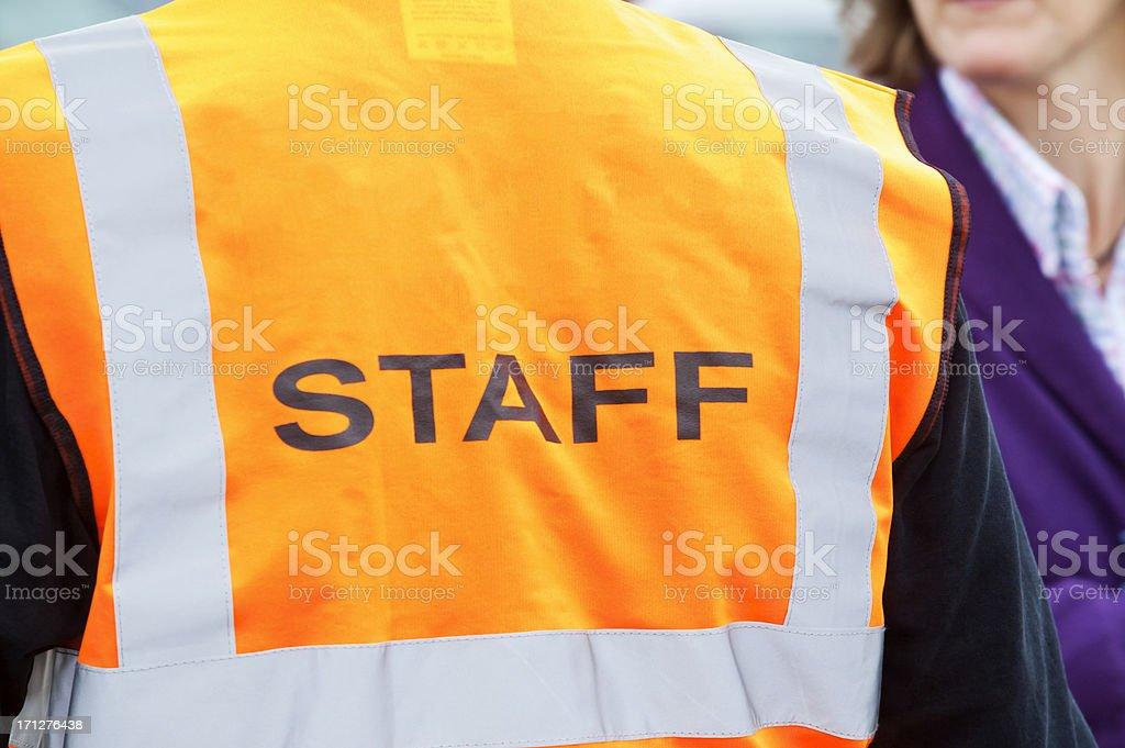 Security Staff Stewarding stock photo