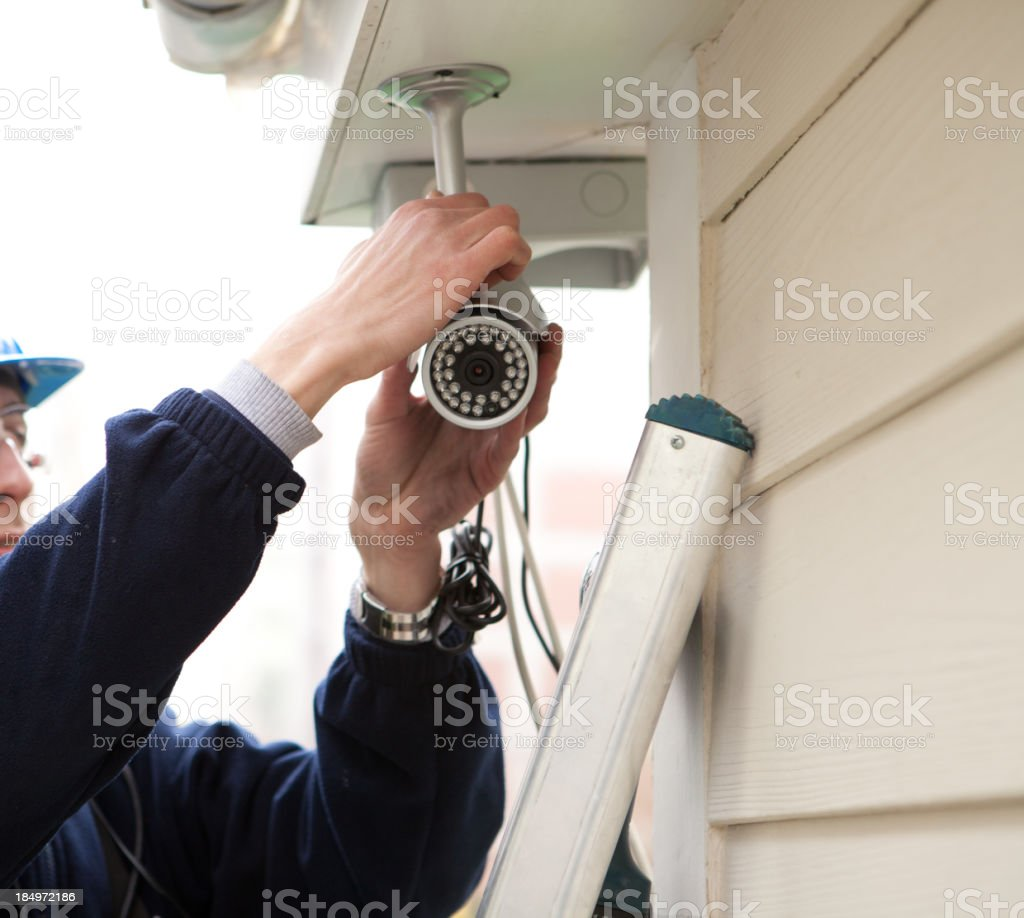 Security System royalty-free stock photo