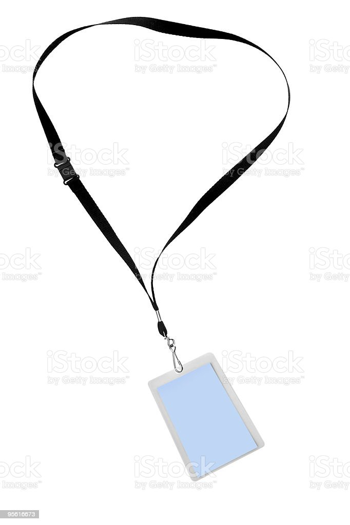 Security Tag stock photo