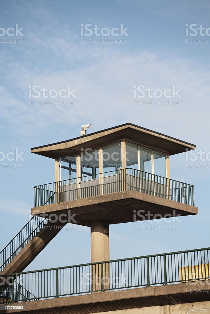Security Tower royalty-free stock photo