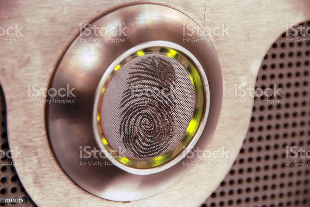 Securiy System royalty-free stock photo