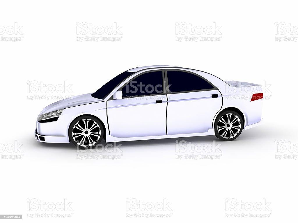 Sedan royalty-free stock photo