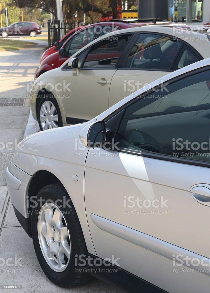 Sedans royalty-free stock photo