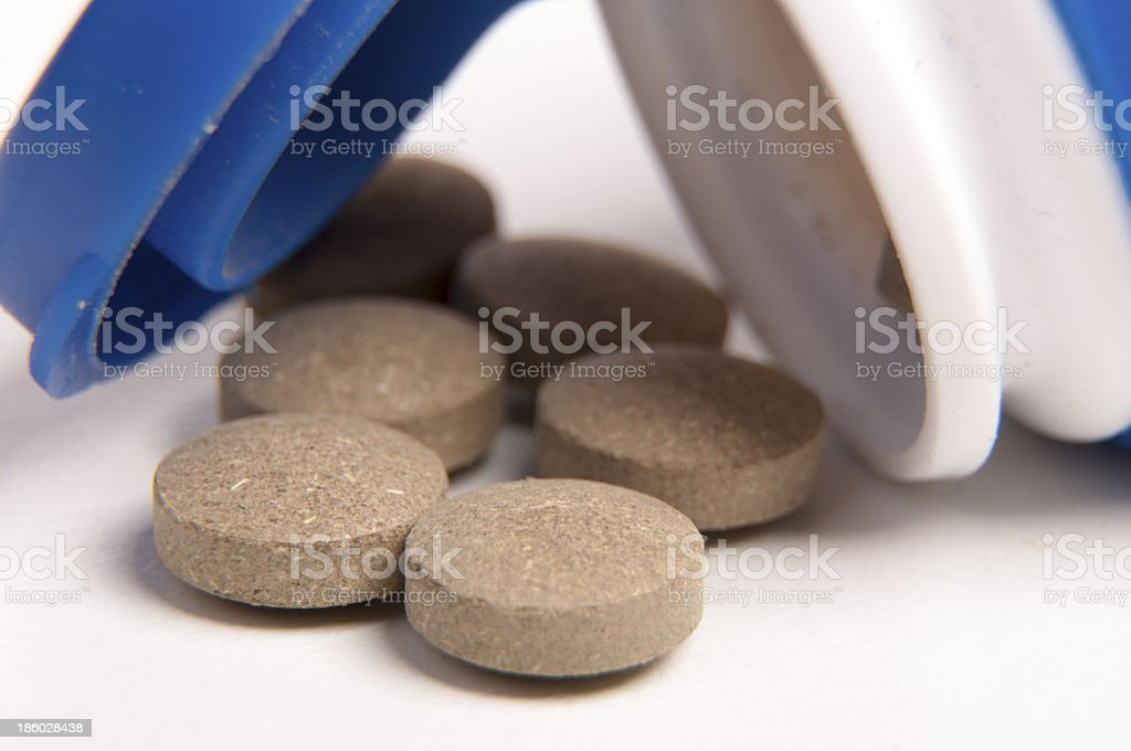 Sedative pills royalty-free stock photo
