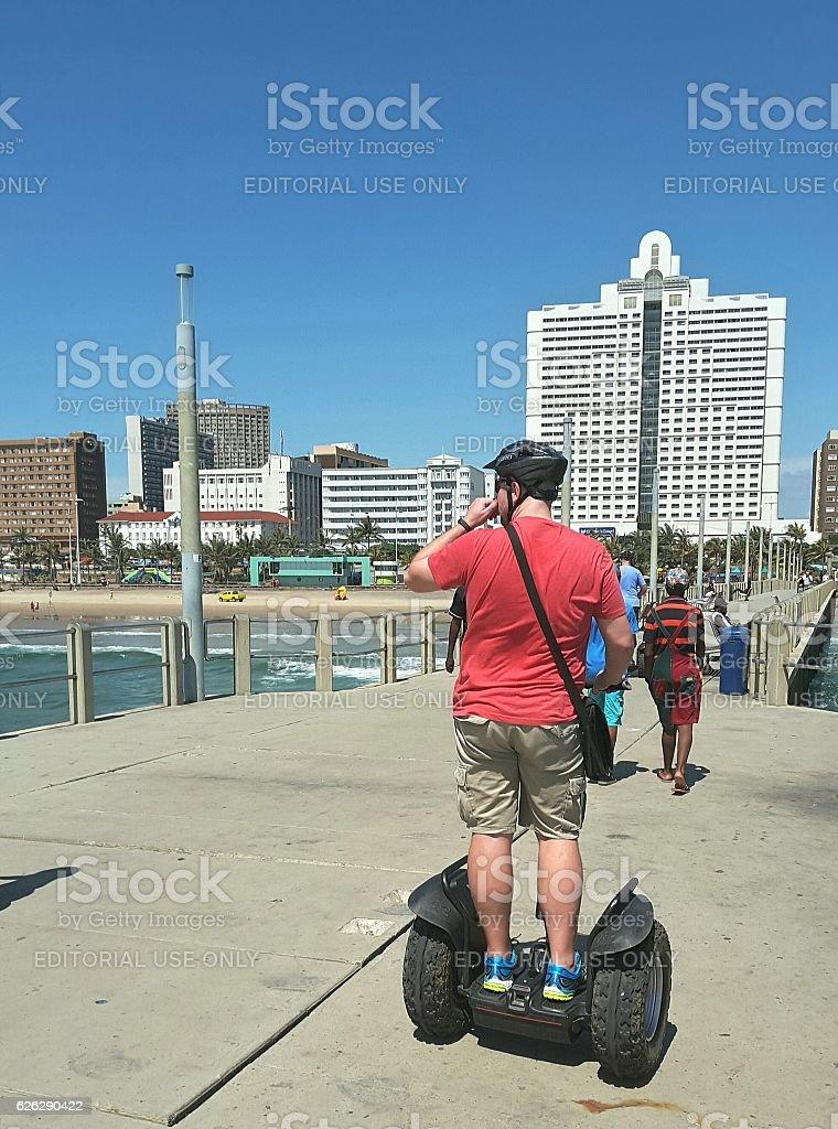 Sedge Way on the pier stock photo