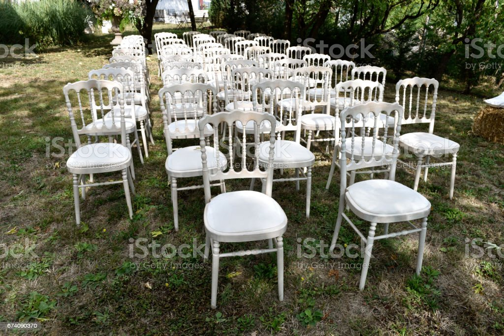 sedie stock photo