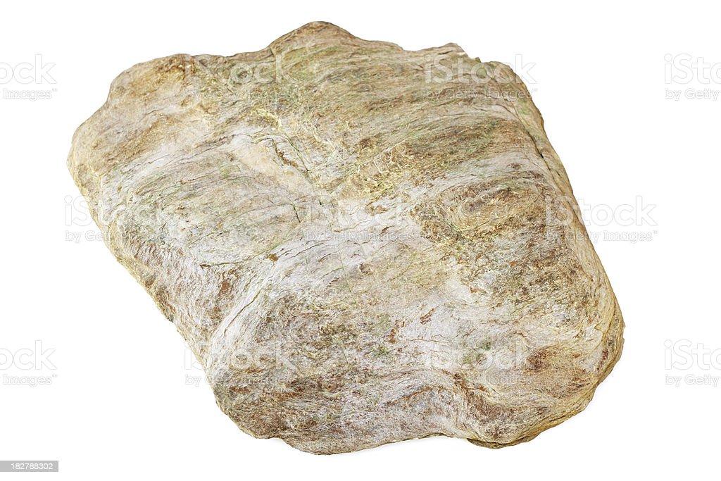 Sedimentary rock royalty-free stock photo