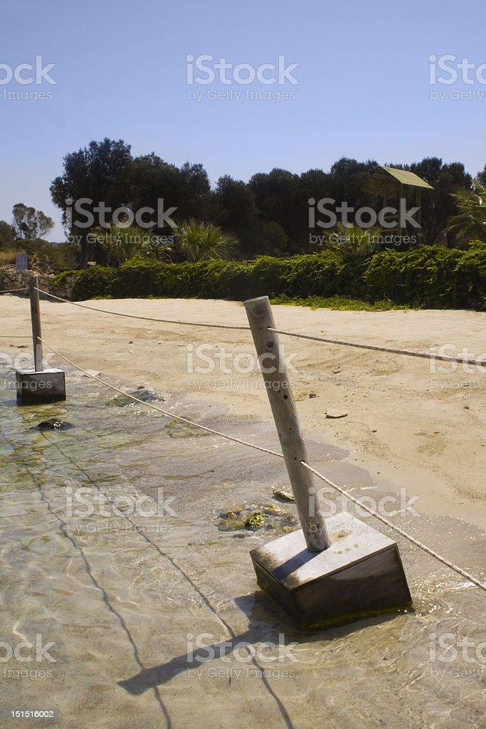 Sedir Island -  Cleopatra Beach stock photo