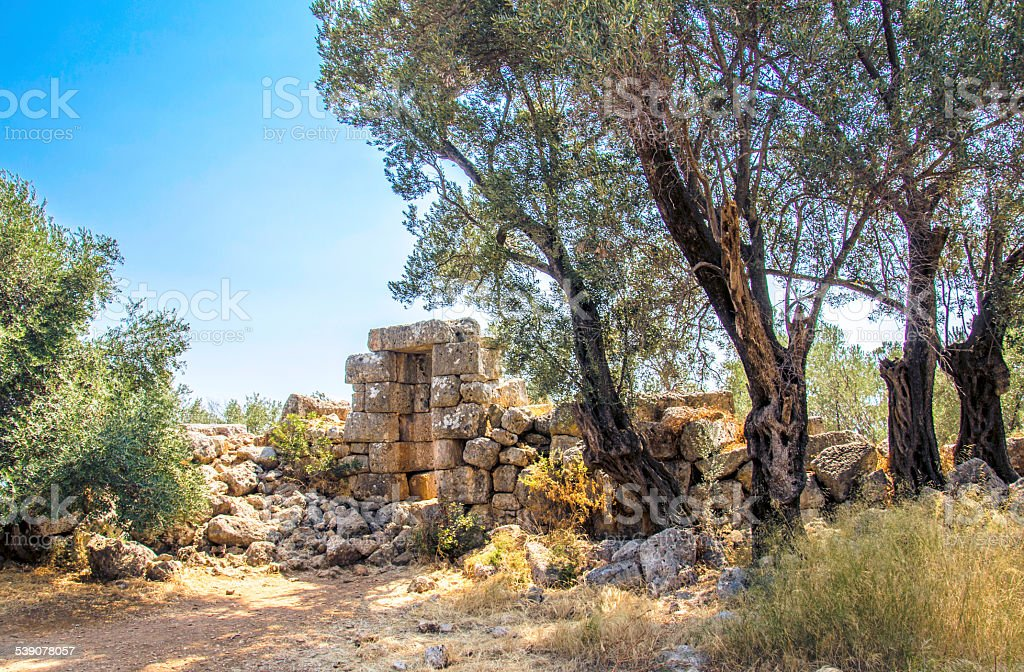 Sedir island, Mugla, Turkey stock photo