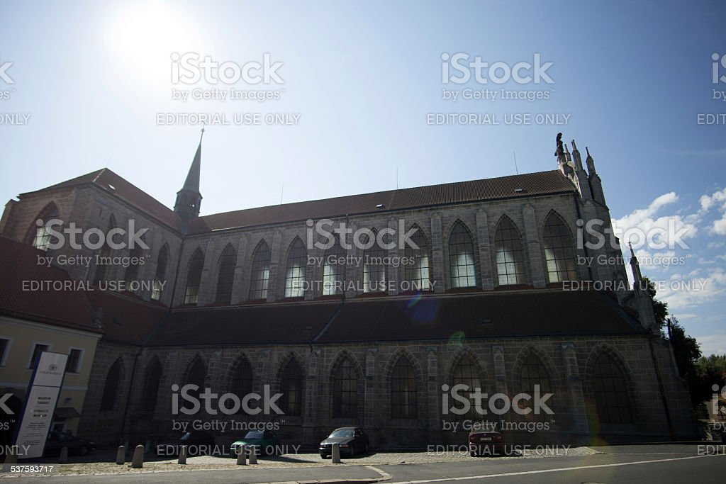 Sedlec Cathedral stock photo