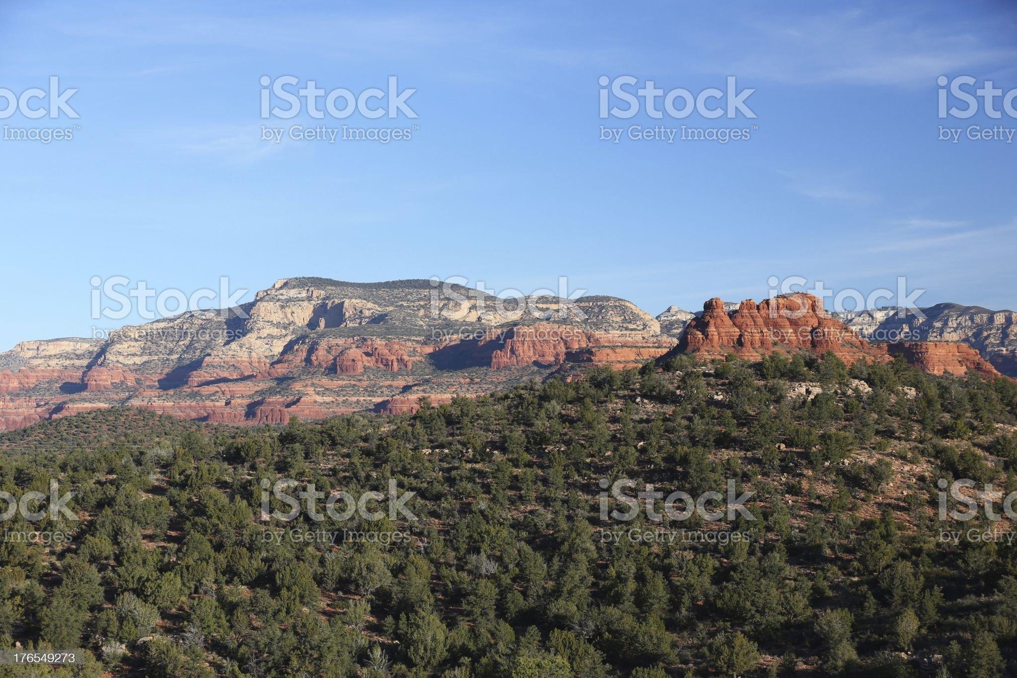 Sedona Arizona Ballooning royalty-free stock photo